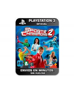 JUEGO PS3  SPORT CHAMPIONS  2 G1099091