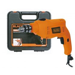 KIT TALADRO BLACK&DECKER PT555K 10MM
