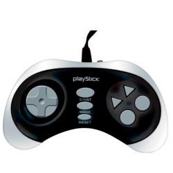 CONSOLA X-VIEW PLAY STICK  8 BITS  76 JUEGOS