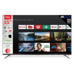 SMART TV 55 TCL L55P8M ANDROID + GOOGLE ASSISTANT