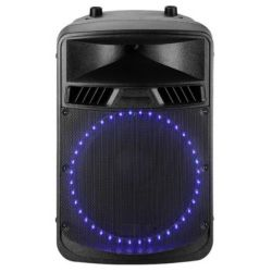BAFLE ACUSTICO ROSS PASB-12/100 LED 100W RMS BLUETOOTH
