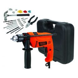 KIT TALADRO BLACK&DECKER HD555K88 13MM